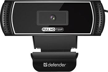 Фото - Web-камера для компьютеров Defender G-Lens 2597 HD720p 2МП 63197 вэб камера defender g lens 2597 hd720p 2 мп автофокус слеж за лицом