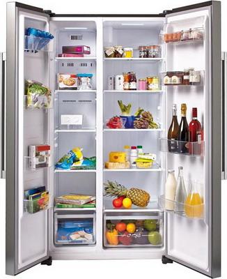 Холодильник Side by Side Candy CXSN 171 IXH цена и фото