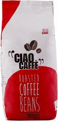 Кофе зерновой Ciao Caffe Rosso Classic 1кг кофе в капсулах goppion caffe pregiato