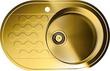 Кухонная мойка OMOIKIRI Kasumigaura 77-AB-R (4993071) кухонная мойка omoikiri kasumigaura 77 ab r 770x480 античная латунь 4993071