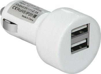 Автомобильное зарядное устройство Defender UCA-15 2 порта USB (83562)