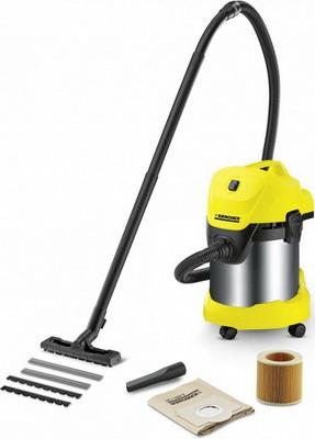 Строительный пылесос Karcher WD 3 Premium желтый пылесос karcher wd 3 premium home сухая влажная уборка стальной жёлтый