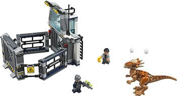 Конструктор Lego Побег стигимолоха из лаборатории 75927 конструктор lego jurassic world побег стигимолоха из лаборатории 222 элемента 75927