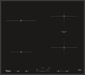 Встраиваемая электрическая варочная панель Whirlpool ACM 932/BA варочная поверхность электрическая acm 898 ba