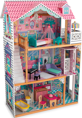 Кукольный дом KidKraft ''Аннабель'' (Annabelle) с мебелью 17 эл. 65934_KE кукольный дом с аксессуарами kidkraft современный таунхаус делюкс