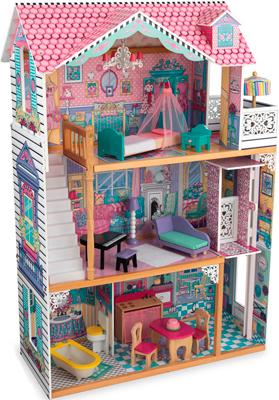 Кукольный дом KidKraft ''Аннабель'' (Annabelle) с мебелью 17 эл. 65934_KE кукольный домик kidkraft для барби аннабель с мебелью в подарочной упаковке