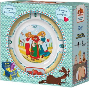 Набор посуды Гусь Хрустальный Три богатыря - Царевны КРС - 898