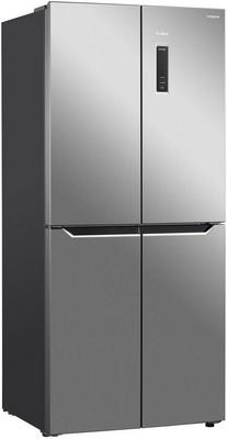 лучшая цена Многокамерный холодильник TESLER RCD-480 I INOX