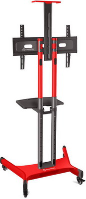 Фото - Мобильная стойка под телевизор ONKRON TS1551 красная мобильная стойка под телевизор itech l503 w