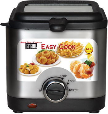 Фритюрница GFgril GFF-03 Easy Cook фритюрница gfgril gff 012 easy cook