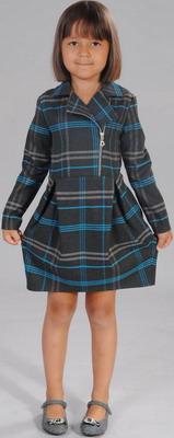 Платье Fleur de Vie 24-1990 рост 140 коричневое платье fleur de vie 24 2260 рост 92 м волна
