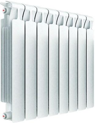 Водяной радиатор отопления RIFAR Monolit 500 х 8 сек биметаллический радиатор rifar monolit 500 5 сек