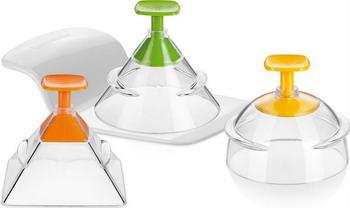 Формочки для придания продуктам 3D-формы Tescoma PRESTO FoodStyle 3шт 422230 формочки для придания блюдам формы tescoma presto foodstyle сердце 2шт 422218