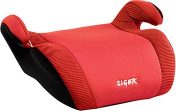 Автокресло Siger Мякиш Плюс красный 22-36 кг автокресло siger мякиш плюс серый 6 12 лет 22 36 кг группа 3