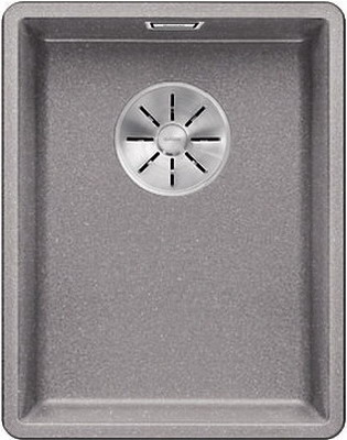 Кухонная мойка Blanco SUBLINE 320-F алюметаллик с отв.арм. InFino 523418 кухонная мойка blanco subline 320 f белый с отв арм infino 523419