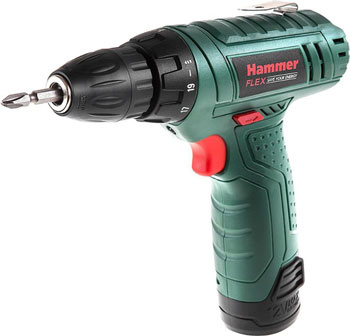 Аккумуляторная дрель Hammer Flex ACD 12 LE