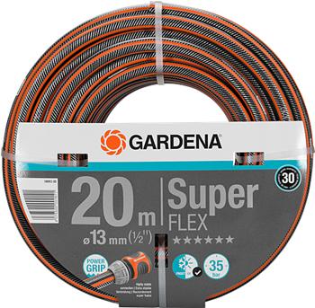 Шланг садовый Gardena SuperFLEX 13 мм (1/2'') 20 м 18093-20 шланг садовый gardena basic 13 мм 1 2 20 м 18123 29