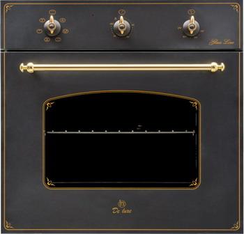 Встраиваемый электрический духовой шкаф DeLuxe 6006.03 эшв - 061 встраиваемый электрический духовой шкаф deluxe 6006 03 эшв 033