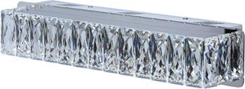 Бра CHIARO Гослар 498022701 16*1W LED 220 V цена