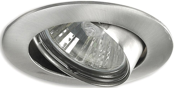 Светильник встроенный DeMarkt Круз 637010101 1*50 W GU 10 220 V светильник уличный demarkt титан 808040401 1 21 w gu 10 220 v