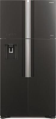 Холодильник Side by Side Hitachi R-W 662 PU7 GGR серое стекло