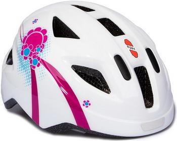 Шлем Puky S (45-51) 9593 white/pink белый/розовый kivat шлем розовый