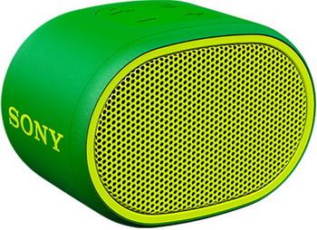 Портативная акустика Sony SRS-XB 01 G зеленая цена и фото