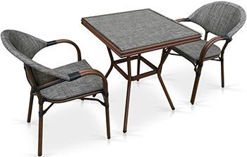 Комплект мебели Афина T 130/C 029-TX 70 x 70 2Pcs c 130 2 8