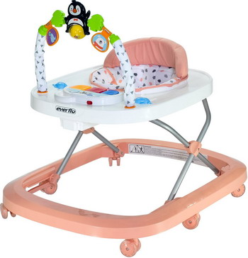 Ходунки Everflo Penguin rose WT 708 ПП100003994