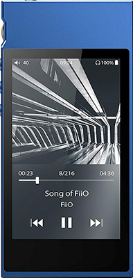 лучшая цена Hi-fi Портативный плеер FiiO M7 blue
