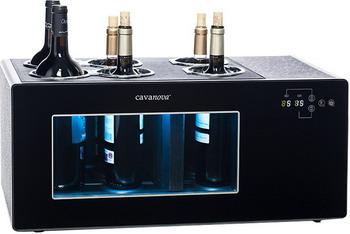 Винный кулер для хранения открытых бутылок Cavanova OW6CD Open Wine