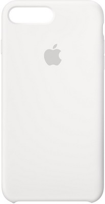Чехол (клип-кейс) Apple Silicone Case для iPhone 8 Plus/7 Plus цвет (White) белый MQGX2ZM/A чехол клип кейс redline extreme для apple iphone 6 plus 6s plus синий [ут000012545]