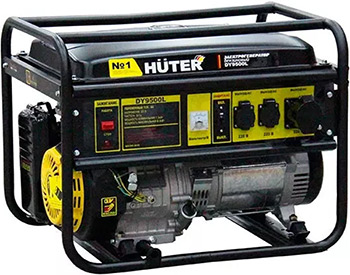 Электрический генератор и электростанция Huter.