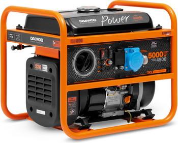 Электрический генератор и электростанция Daewoo Power Products GDA 6800i генератор бензиновый daewoo gda 6800