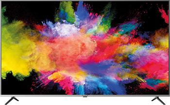 4K (UHD) телевизор Hyundai, H-LED65EU7003 стальной, Россия  - купить со скидкой