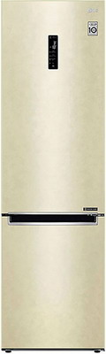 цена на Двухкамерный холодильник LG GA-B 509 MEDZ бежевый
