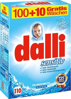 Стиральный порошок DaLLi Sensitiv 7 15 кг