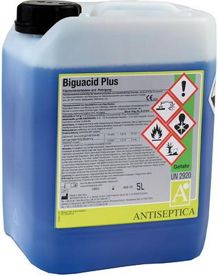 Дезинфицирующее средство для обработки пола и других поверхностей Biguacid PLUS 5 л