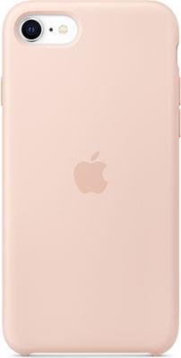Чехол (клип-кейс) Apple iPhone SE Silicone Case - Pink Sand MXYK2ZM/A клип кейс deppa apple iphone 5 se tpu red