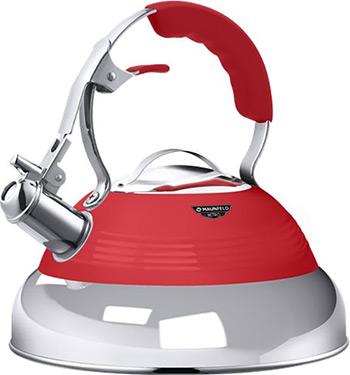 Фото - Чайник MAUNFELD MRK-119R красный endever чайник aquarelle 301 302 303 3 л красный