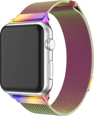 Ремешок Eva Milanese Loop Stainless Steel для Apple Watch 38/40 mm Хамелеон (AVA002CF)