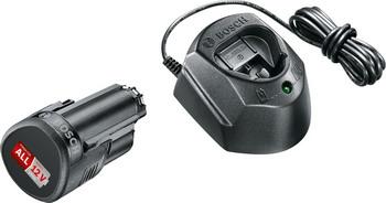 Базовый набор 12 B Bosch GAL 1210 CV 1600A01L3D быстрозарядное устройство bosch gal 1880 cv для li ion 14 4 в и 18 в professional 1600a00b8g