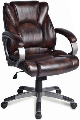 Кресло Brabix ''Eldorado EX-504'' экокожа коричневое 530875