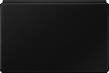 Чехол-клавиатура Samsung Galaxy Tab S7+ EF-DT970BBRGRU полиуретан/поликарбонат черный
