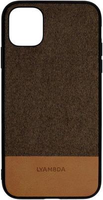 Чеxол (клип-кейс) Lyambda CALYPSO для iPhone 12 Pro Max (LA03-1267-BR) Brown чехол клип кейс lyambda calypso для iphone xs max la03 cl xsm br brown