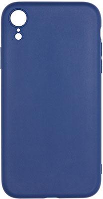 Фото - Чеxол (клип-кейс) Eva для Apple IPhone XR - Тёмно синий (MAT/XR-DBL) чеxол клип кейс eva для apple iphone xr чёрный 7279 xr b