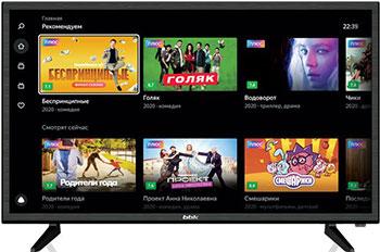 Фото - LED телевизор BBK 32LEX-7289/TS2C телевизор bbk 39lex 7289 ts2c 39 2020 на платформе яндекс тв черный