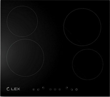 Встраиваемая электрическая варочная панель Lex EVH 640 Black цена