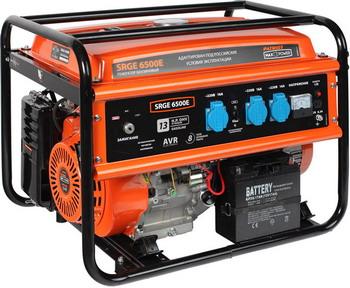Фото - Электрический генератор и электростанция Patriot Max Power SRGE 6500 E генератор бензиновый patriot max power srge 6500e