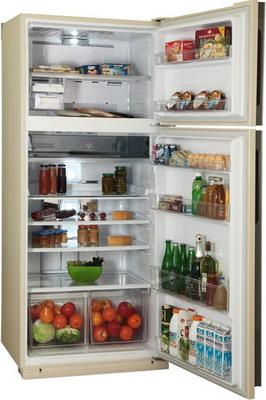 Двухкамерный холодильник Sharp SJ-XE 59 PMBE цена и фото